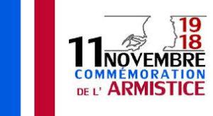 Commémoration de l'Armistice de la guerre 1914-1918