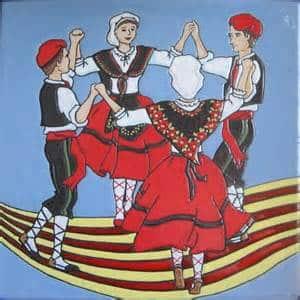 Fête du Rosaire avec la Cobla Mil-lenaria