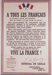 Journée nationale commémorative de l'appel historique du Général de Gaulle